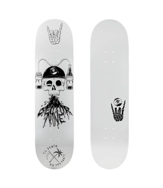 Sector 9 Swill Reaper 8.5 White Deck