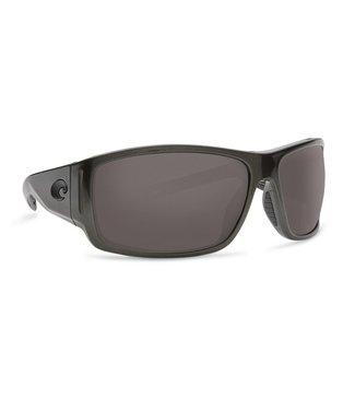 Costa Del Mar Cape Shiny Steel Gray Metallic 580P Gray Lens