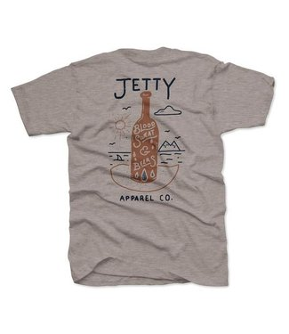Sweat & Beers Heather Grey Tee