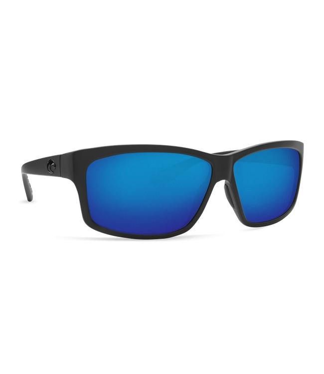 Costa Del Mar Cut Blackout 580P Blue Mirror Lens Sunglasses