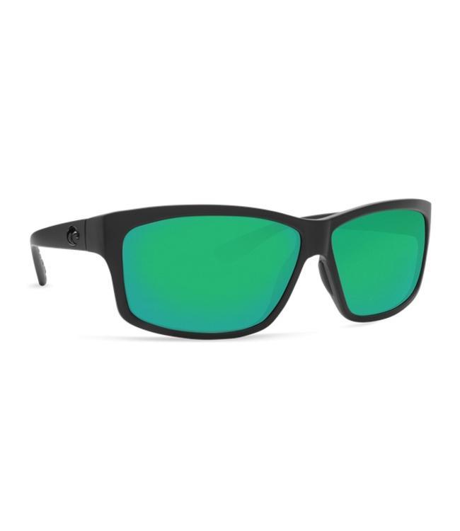 Costa Del Mar Cut Blackout 580P Green Mirror Lens Sunglasses