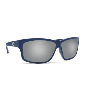 Costa Del Mar Cut Matte Atlantic Blue 580P Silver Mirror Gray Sunglasses