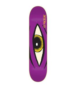 "Toy Machine Skateboards Toy Machine Sect Eye Purple 8.12"" Deck"