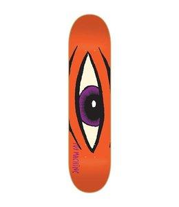 "Toy Machine Skateboards Toy Machine Sect Eye Orange 8.0"" Deck"