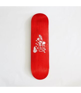"Ninety Nine Garden Grove Red 8.38"" Deck"