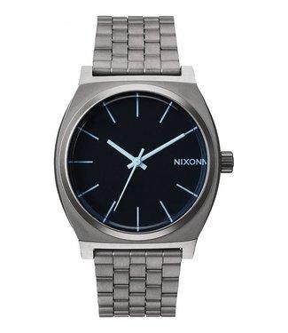 Nixon Time Teller Gunmetal / Blue Crystal 37mm Watch