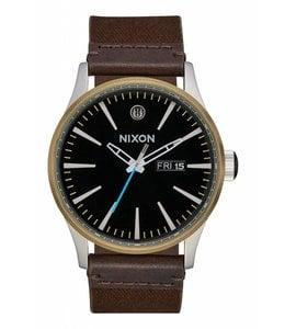 Nixon Sentry Leather SW Skywalker Black/Brown Watch