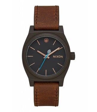 Nixon Medium Time Teller SW Rey Black/Brown Watch