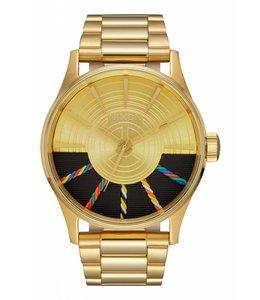 Nixon Sentry SS Star Wars C-3PO Gold Watch