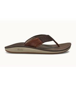 Olukai Nohana Ulana Dark Wood Sandals