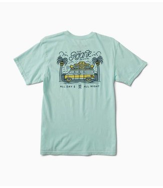 Roark Revival Kingston Mobile Soundsystem Aqua Tee