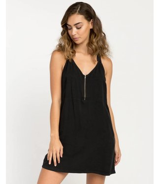 RVCA Primrose Black Tank Dress