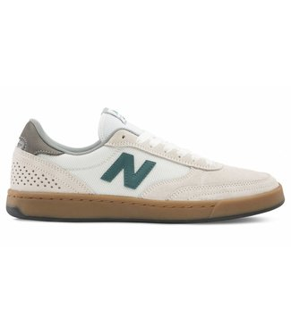 New Balance Numeric 440 Sea Salt with Forest Green