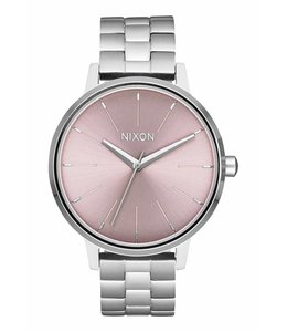 Nixon Kensington Silver and Pale Lavender Watch