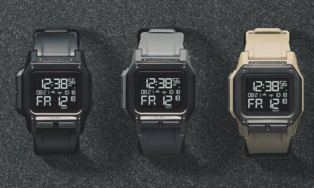 Ready... Set... Synchronize. The Nixon Regulus is Here.
