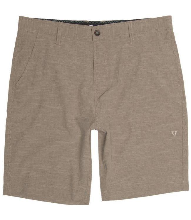 VISSLA Fin Rope Hybrid Dark Khaki Shorts