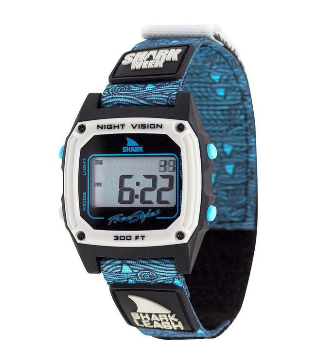 FREESTYLE Shark Classic Leash Shark Week Blue Fin Watch