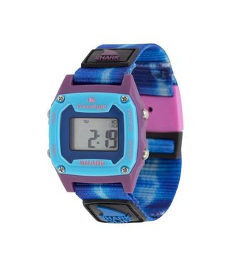 FREESTYLE Shark Mini Clip Tie-Dye Blue Sea Watch