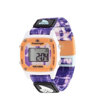 FREESTYLE Shark Mini Clip Tie-Dye Purple Burst Watch