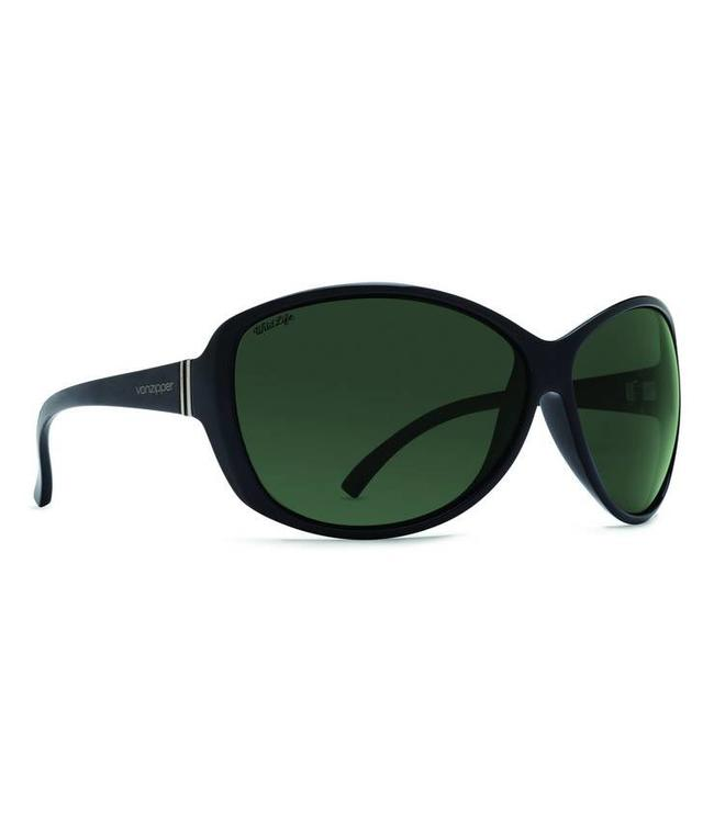 Vonzipper Vacay Black Gloss Polar Lens Sunglasses