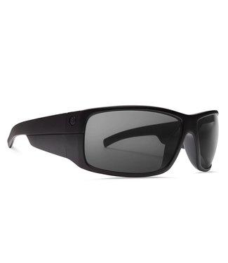 Electric Mudslinger Matte Black OHM Polar Grey Sunglasses