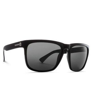 Electric Knoxville XL Gloss Black Glass Polar Grey Sunglasses