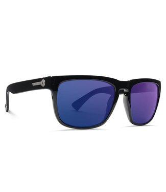 Electric Knoxville Gloss Black OHM+ Polar Blue Sunglasses