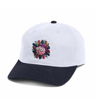 Primitive Skateboarding x Rick and Morty Morty White Dad Hat