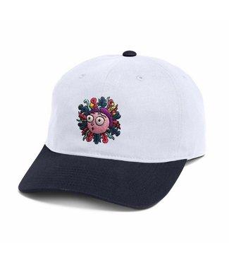 Primitive x R&M Morty White Dad Hat