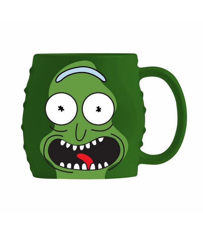 Primitive x R&M Pickle Rick Molded Mug
