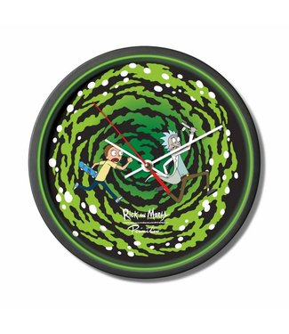 Primitive Skateboarding x Rick and Morty Portal Wall Clock