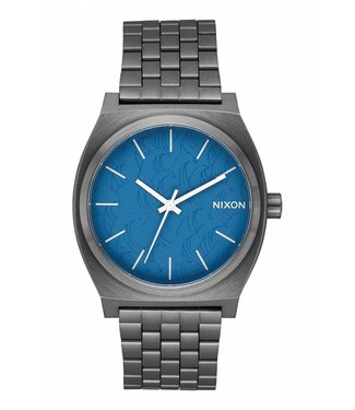 Nixon Navy and Gunmetal Andy Davis Time Teller Watch