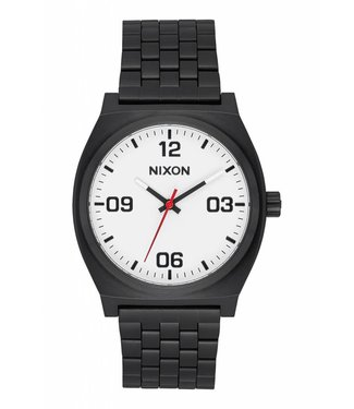 Nixon Time Teller Black and White Corp Watch