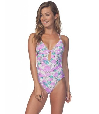 Rip Curl Mai Tai White One Piece Swimsuit