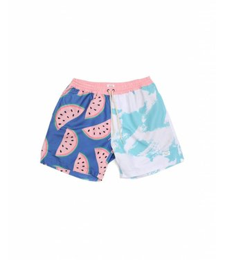 Duvin Design Co. Melon Blue Volley Shorts