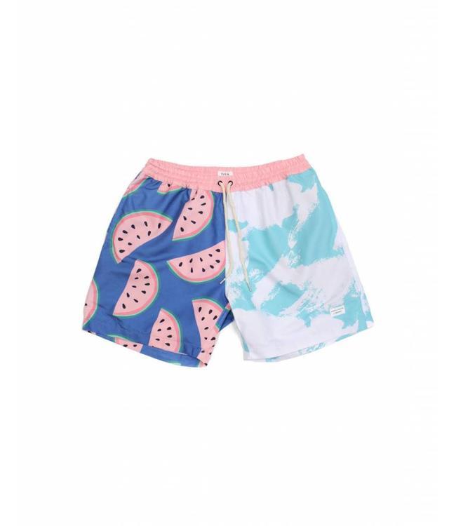 Duvin Design Co. Melon Blue Volley Shorts