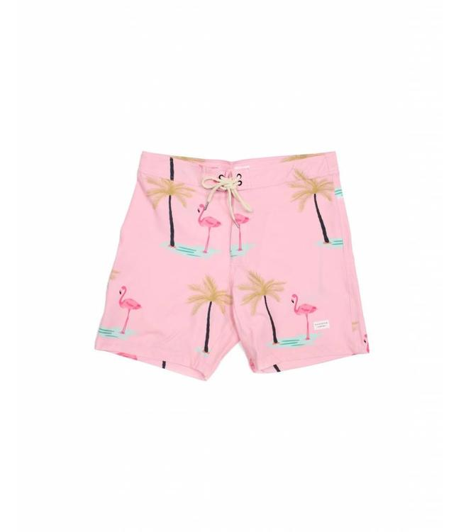 Duvin Design Co. Palm Pink Boardshorts