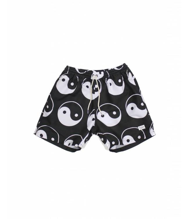 Duvin Design Co. Yin Yang Black Shorts