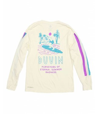Duvin Design Co. Summer Radness Antique Long Sleeve Tee