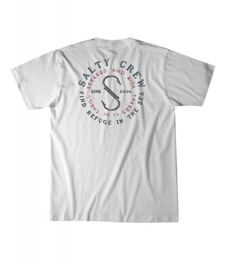 Salty Crew Arched White Tee