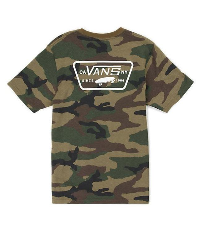 Vans Full Patch Back Camo Tee
