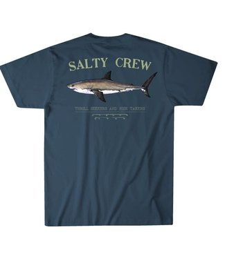 Salty Crew Bruce Cool Grey Tee