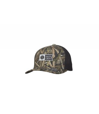 Salty Crew Transom Retro 6 Panel Grassblades Trucker Hat