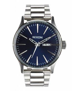Nixon Sentry SS Blue Sunray Watch