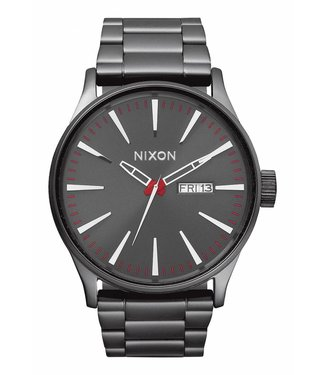 Nixon Sentry SS Gunmetal 42MM Watch