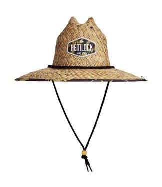 Hemlock Hat Co. Del Sol Straw Lifeguard Hat