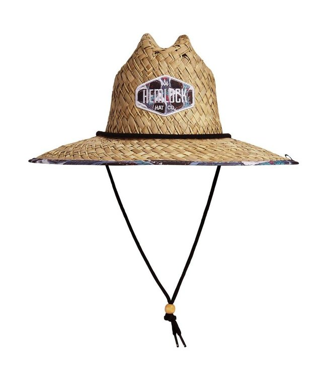 Hemlock Hat Co. The Bruce Straw Lifeguard Hat