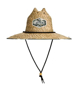 Hemlock Hat Co. Big Mouth Straw Lifeguard Hat