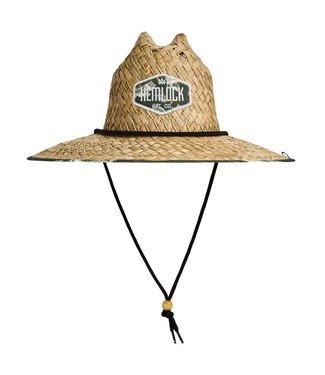 Hemlock Hat Co. Big Mouth Straw Lifeguard Hat