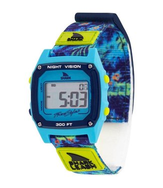 FREESTYLE Shark Classic Leash Aloha Floral Green Watch